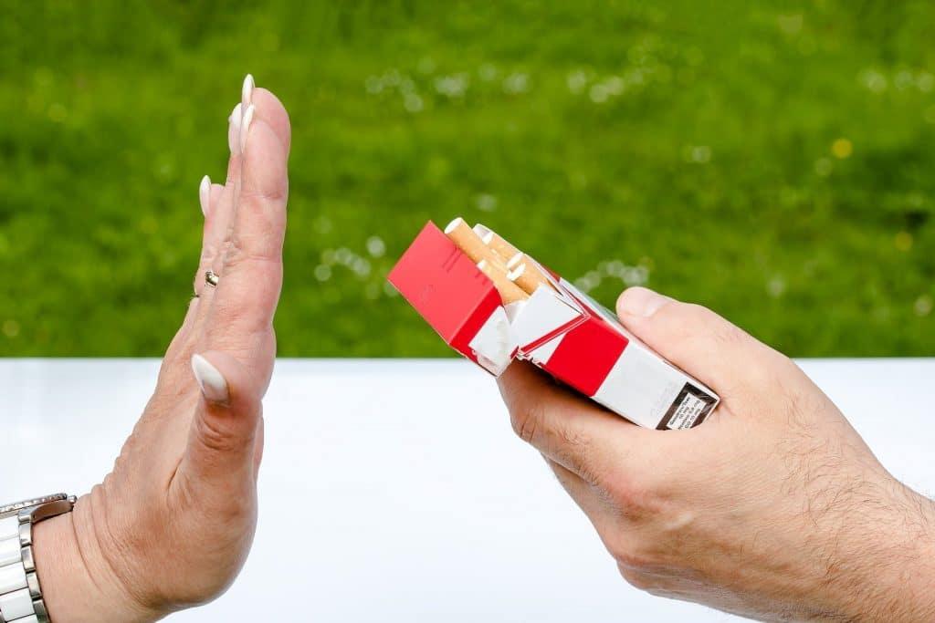 Dejando de fumar